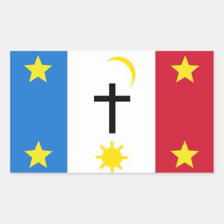 Pascua Yaqui Tribe Rectangular Sticker