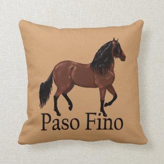 "Paso Fino Bay ""Paso Fino"" Cushion"