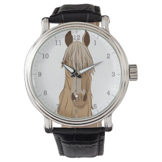 Paso Fino Horse Face Watch