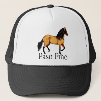 Paso Horse Buckskin Paso Fino Trucker Hat