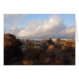 Paso Robles: View from Veterans Memorial Bridge Card