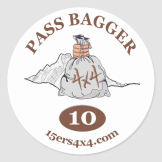 Pass Bagger 10 Sticker