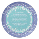 Pass it Along Plate for Family and Friends