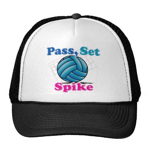 Pass Set Spike Hat