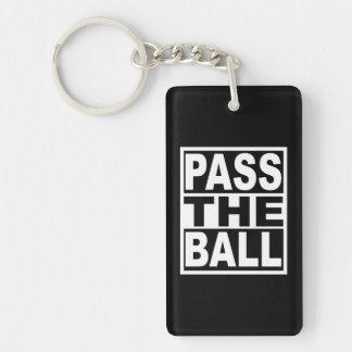 Pass the Ball Key Ring