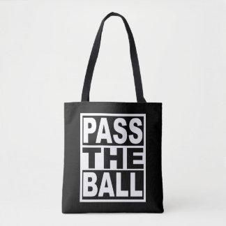 Pass the Ball Tote Bag
