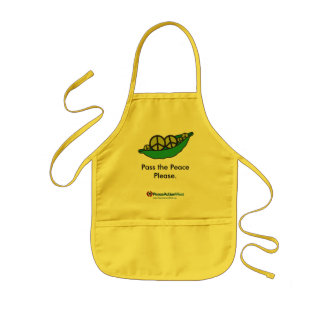 Pass the Peace Please - Baby Apron