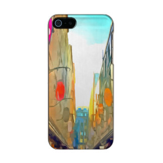 Passage between colorful buildings incipio feather® shine iPhone 5 case