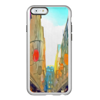 Passage between colorful buildings incipio feather® shine iPhone 6 case
