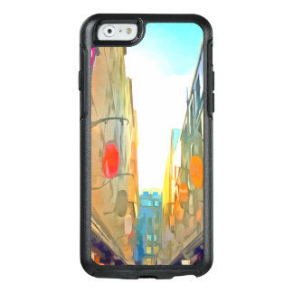Passage between colorful buildings OtterBox iPhone 6/6s case