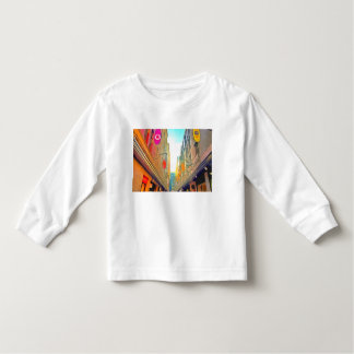 Passage between colorful buildings toddler T-Shirt