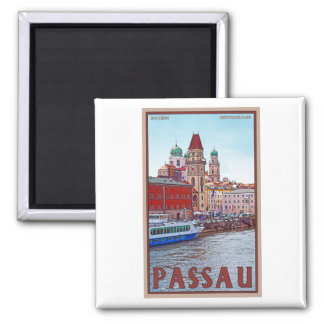 Passau - Donau Waterfront Magnet