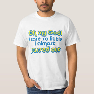 """""""Passed Out"""" T-Shirt"""