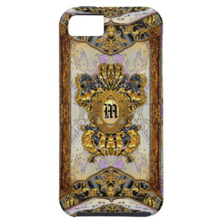 Passementerie Madeline Elegant Chic Damask Case For The iPhone 5
