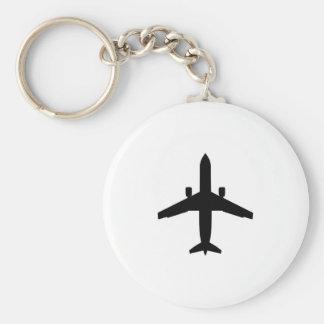 passenger Aeroplane Key Chains