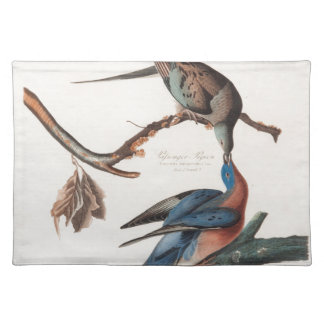 Passenger Pigeon (1838) John J. Audubon Placemat