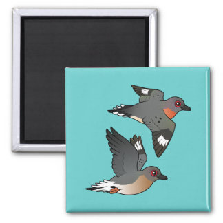 Passenger Pigeon Flight Magnet