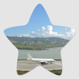 passenger plane star stickers