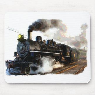 Passenger Steam Train Mouse Pad