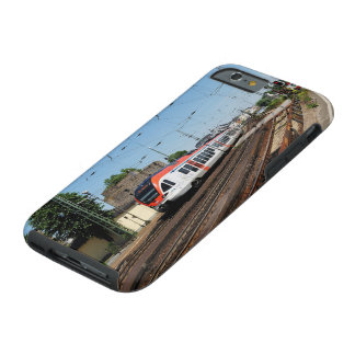 Passenger train in coarse home on the Rhine Tough iPhone 6 Case