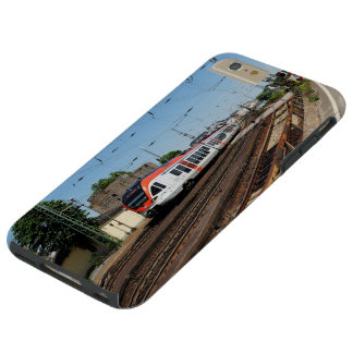 Passenger train in coarse home on the Rhine Tough iPhone 6 Plus Case