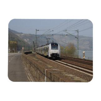 Passenger train in Niederheimbach Magnet