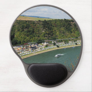 Passenger train to the Loreley Gel Mouse Pad