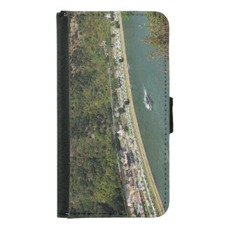 Passenger train to the Loreley Samsung Galaxy S5 Wallet Case