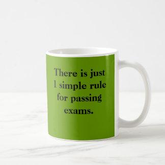 Passing Exams 1 Rule Mug
