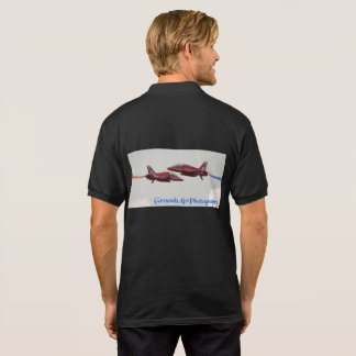 passing wave polo shirt