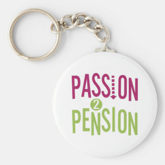 Passion 2 Pension Key Ring
