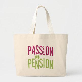 Passion 2 Pension Jumbo Tote Bag