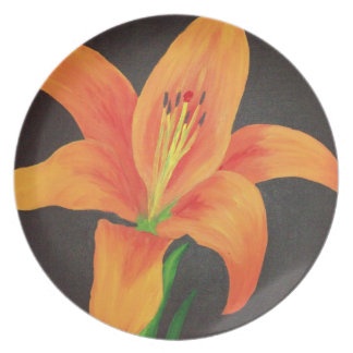Passion Can Bloom Out Of Darkness Party Plates