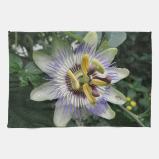 Passion Flower Kitchen Towel