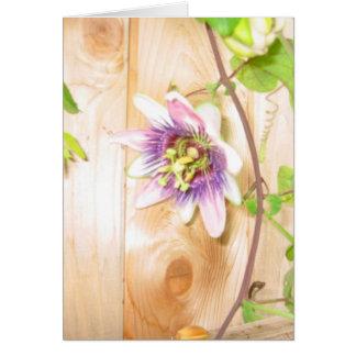 Passion Flower Vine Card