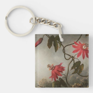 Passion Flowers Key Ring