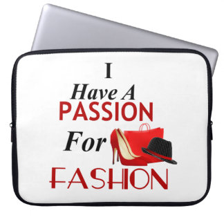 Passion For Fashion Laptop Sleeve