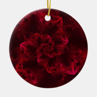 Passion Fractal Christmas Tree Ornaments