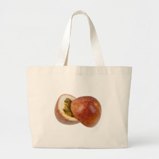 Passion fruit tote bags