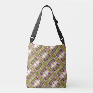 Passion Fruit Flower Cross Body Tote