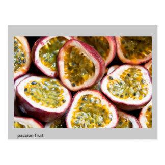 passion fruit postcard