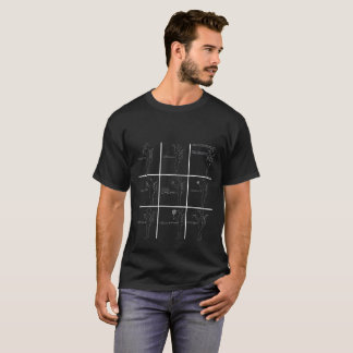Passion Grid 4ppetite (negative) by Joshi x Julie T-Shirt
