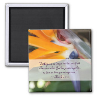 Passion in Paradise Christian Wedding Favor Magnet