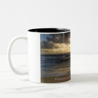 Passion is the key to happiness mug