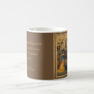 Passion of Jesus Christ Crucifixion Painting Coffee Mug