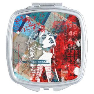 Passion Square Compact Mirror