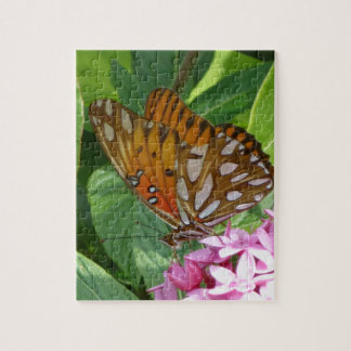 Passion Vine Butterfly Jigsaw Puzzle