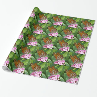 Passion Vine Butterfly Wrapping Paper