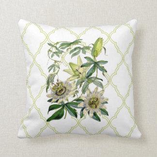 Passion Vine Throw Pillows