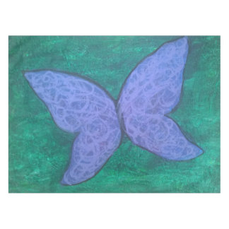Passionate Butterfly Purple Blue Green Tablecloth